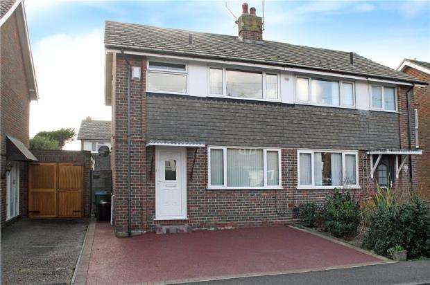 3 Bedrooms Semi Detached House for sale in Shaftesbury Road, Rustington, West Sussex, BN16