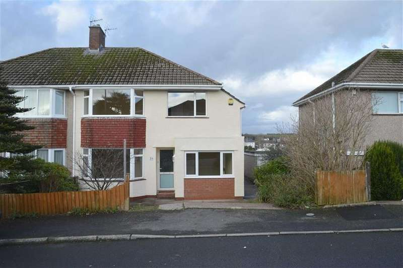 3 Bedrooms Semi Detached House for sale in Clyne Cresent, Mayals, Swansea