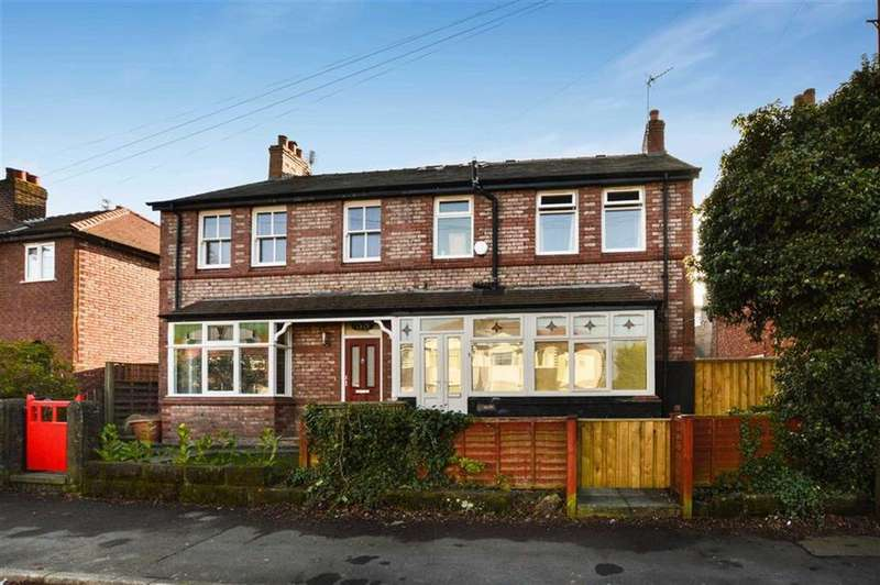 4 Bedrooms Semi Detached House for sale in Grove Lane, Hale, Cheshire, WA15