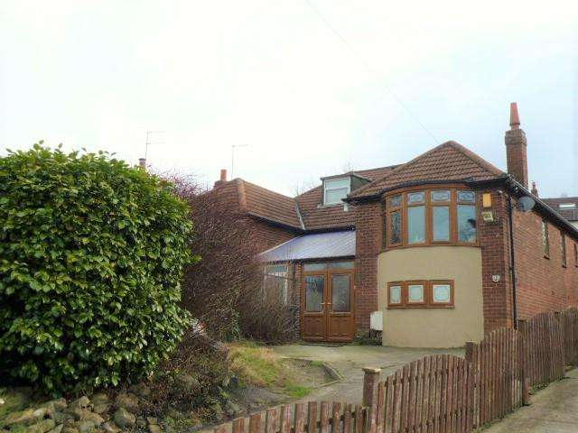 2 Bedrooms Semi Detached Bungalow for sale in Tinshill Road, Leeds