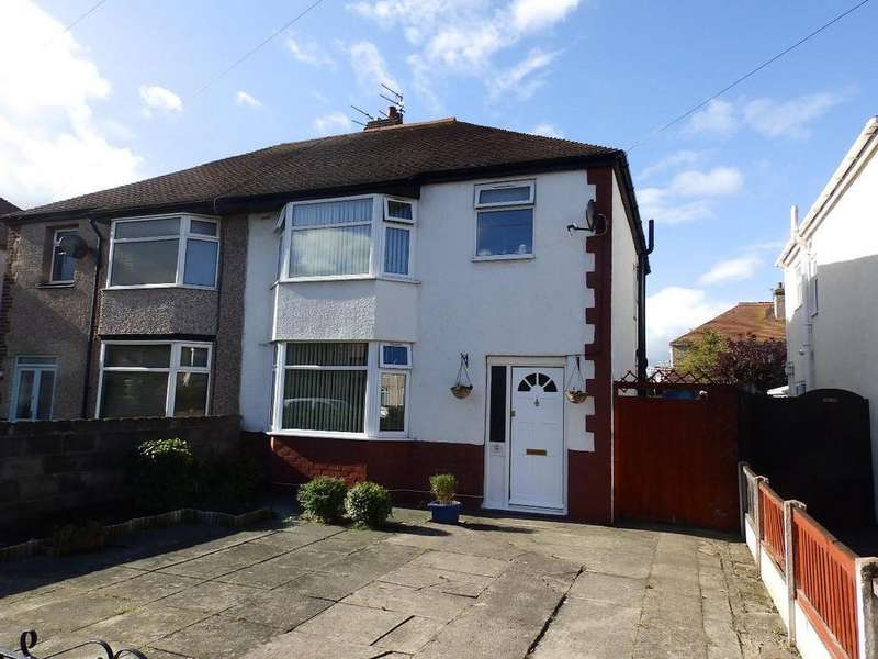 3 Bedrooms Semi Detached House for sale in Princess Elizabeth Avenue, Rhyl
