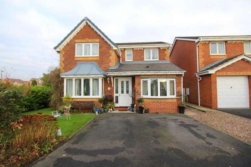 4 Bedrooms Detached House for sale in Wild Arum Close, Lowton WA3