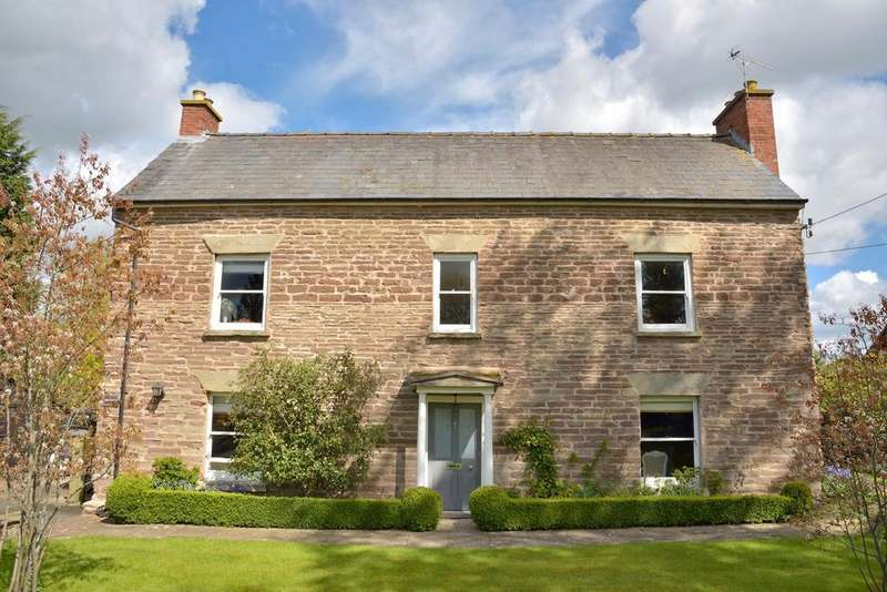 5 Bedrooms Detached House for sale in Bodenham, HEREFORD, HR1