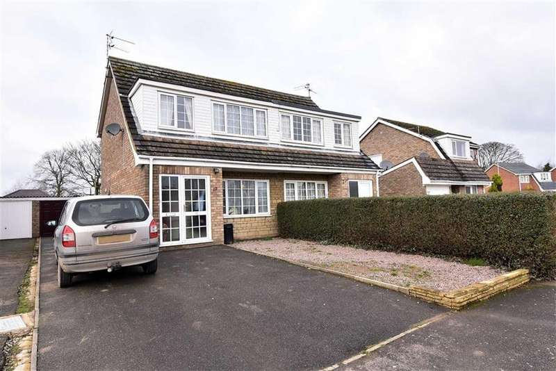 3 Bedrooms Semi Detached House for sale in Chestnut Avenue, Donington