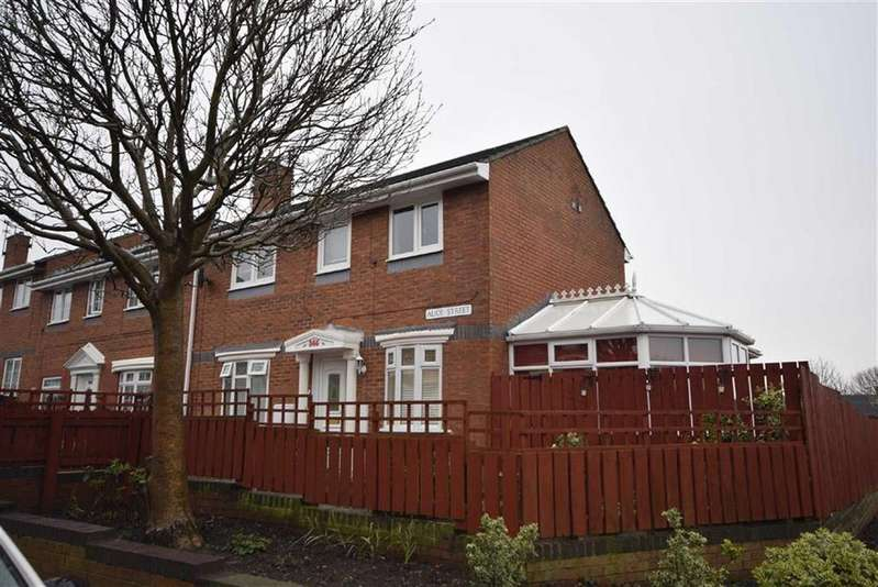 4 Bedrooms End Of Terrace House for sale in Alice Street, South Shields