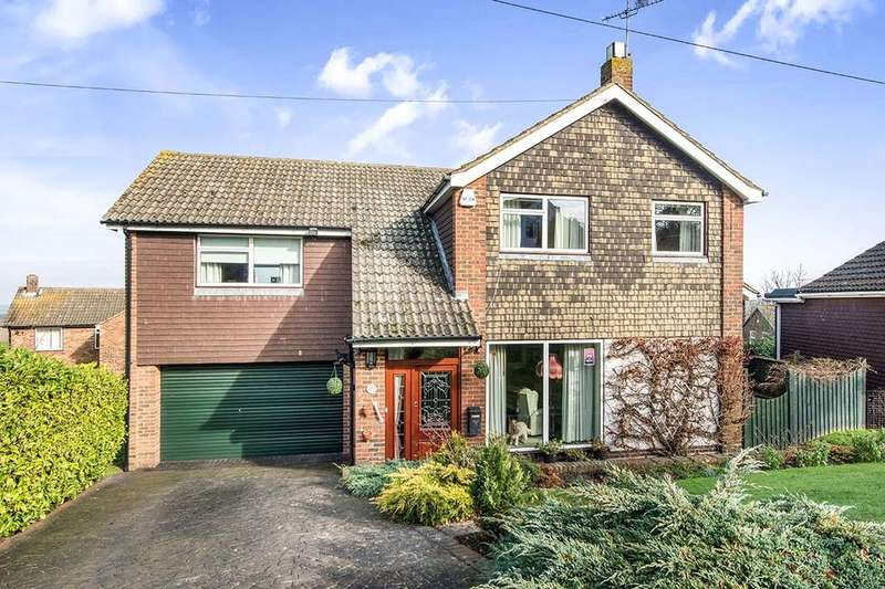 5 Bedrooms Detached House for sale in The Larches, Higham, Rochester, ME3