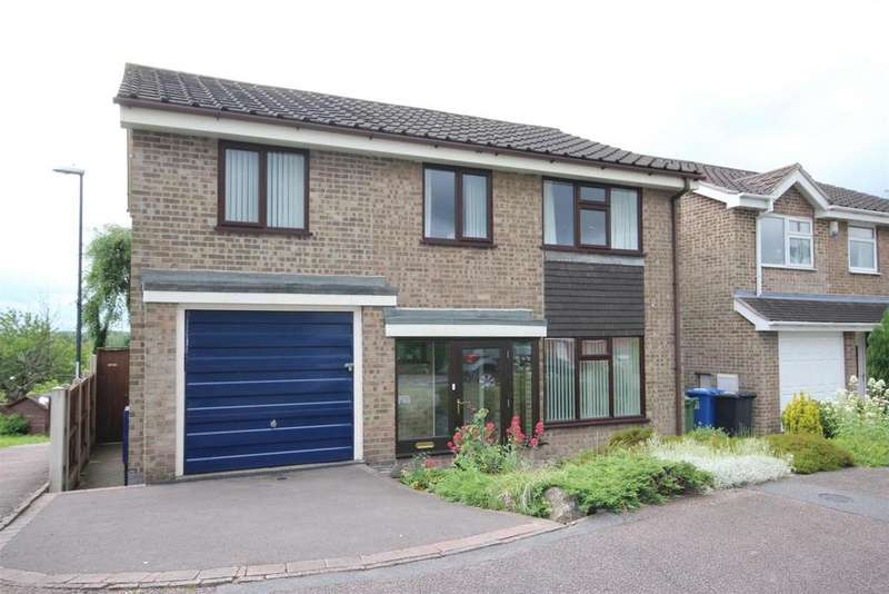 4 Bedrooms Detached House for sale in Stanage Green, Mickleover, Derby