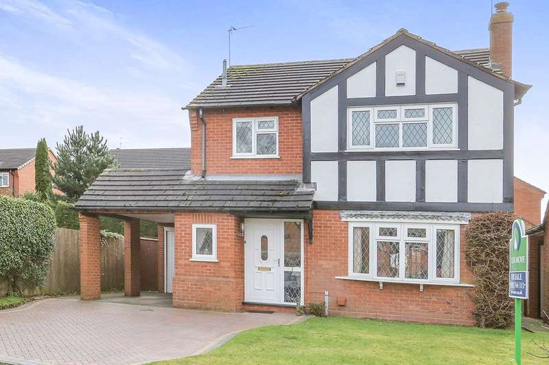 4 Bedrooms Detached House for sale in Goodrich Avenue, Perton, Wolverhampton, WV6