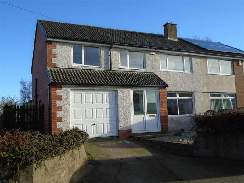 4 Bedrooms Semi Detached House for sale in South End, Wigton, Cumbria