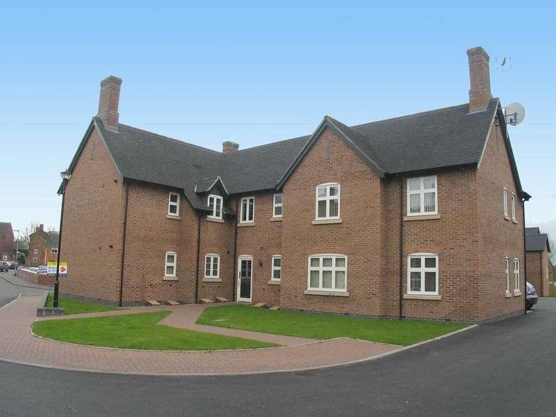 2 Bedrooms Apartment Flat for sale in Flat 4, Teddesley House, Clay Street, Penkridge, ST19 5NE