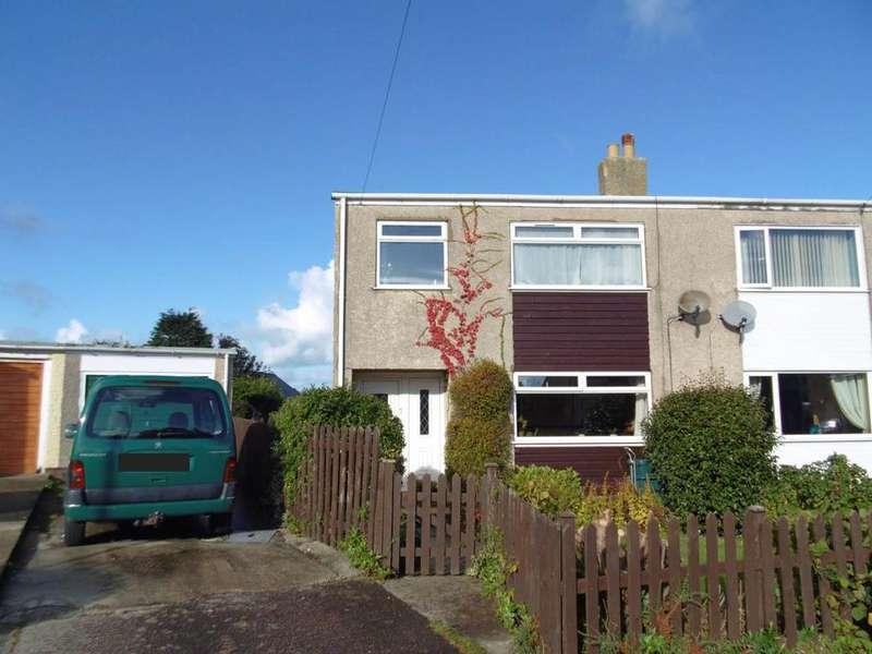 3 Bedrooms Semi Detached House for sale in Gwynan Park, Dwygyfylchi, LL34 6RR