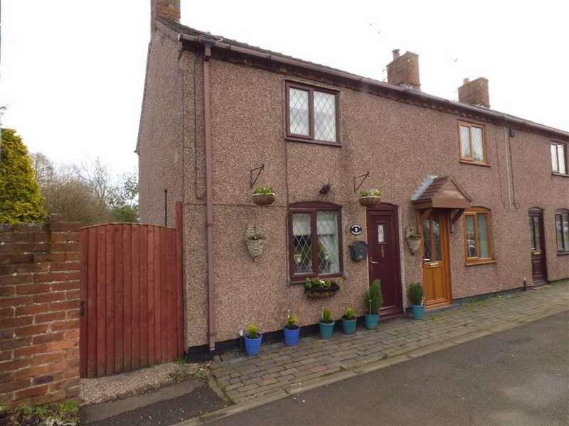 2 Bedrooms Cottage House for sale in Cobweb Cottage, 3, Draycott Cross Road, Cheadle