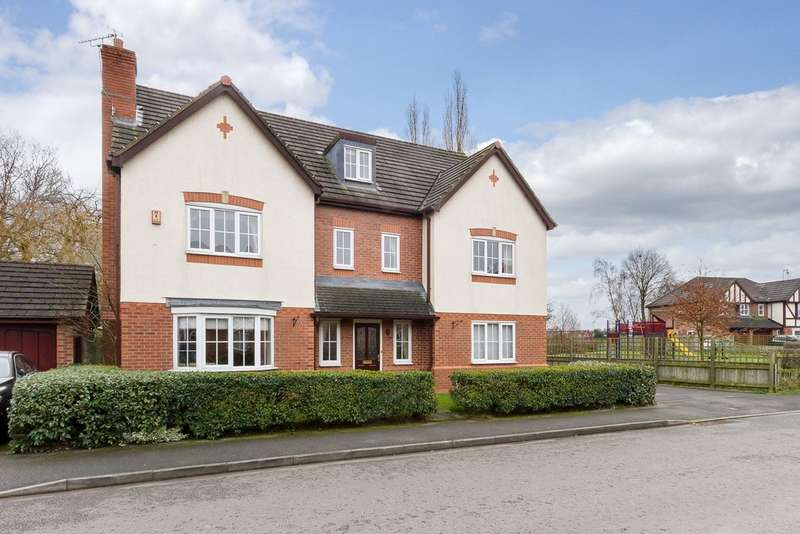 6 Bedrooms Detached House for sale in Clover Drive, Pickmere