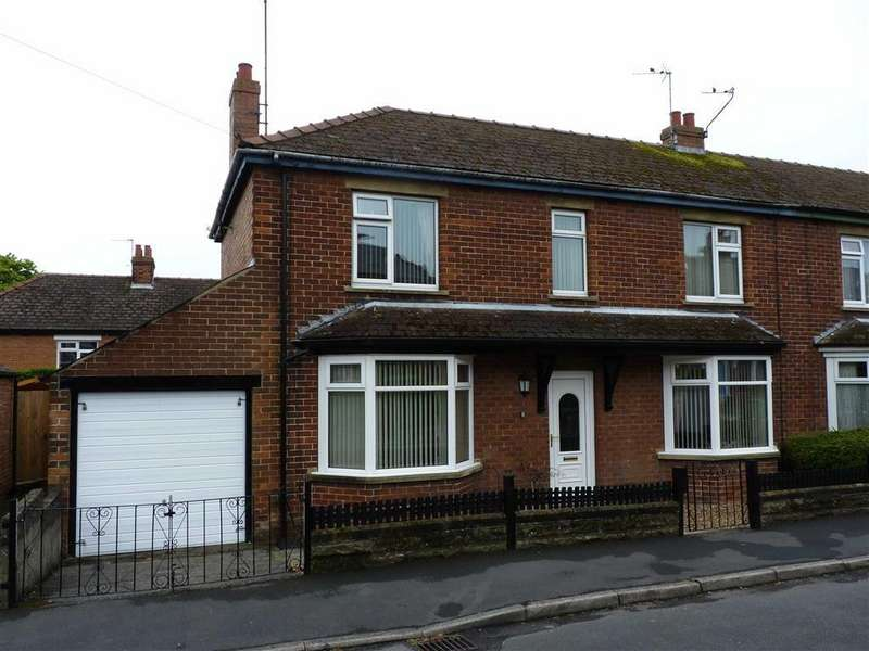 4 Bedrooms Semi Detached House for sale in Neville Walk, Richmond, North Yorkshire