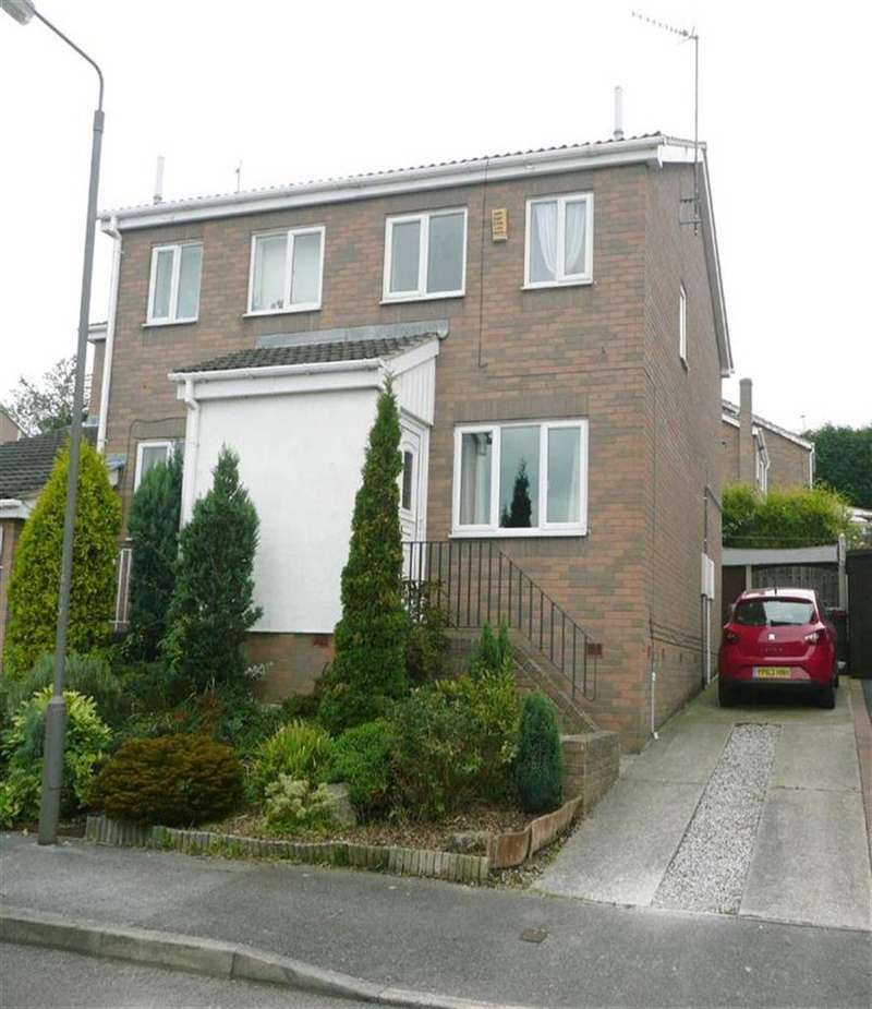 2 Bedrooms Semi Detached House for sale in Polyfields Lane, Bolsover, Chesterfield, S44