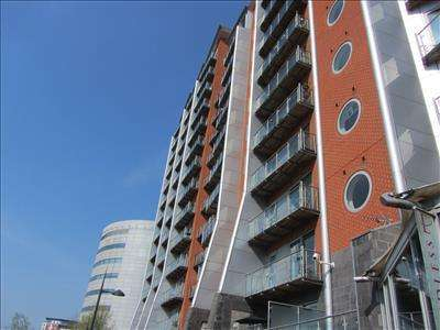 2 Bedrooms Apartment Flat for sale in Whitehall Quay, Whitehall Road, LEEDS, West Yorkshire, LS1 4BU