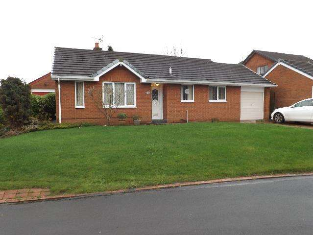 2 Bedrooms Detached Bungalow for sale in Falstone Close Winstanley, Wigan