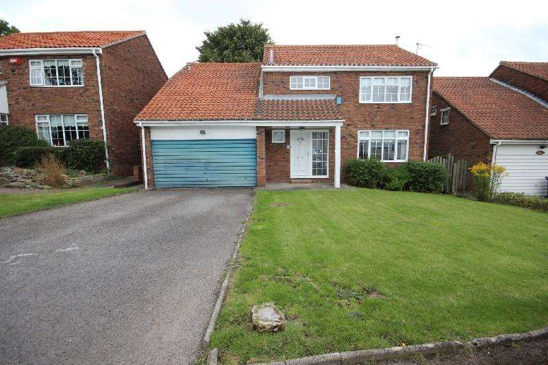 4 Bedrooms Detached House for sale in The Paddock, Elwick, Hartlepool