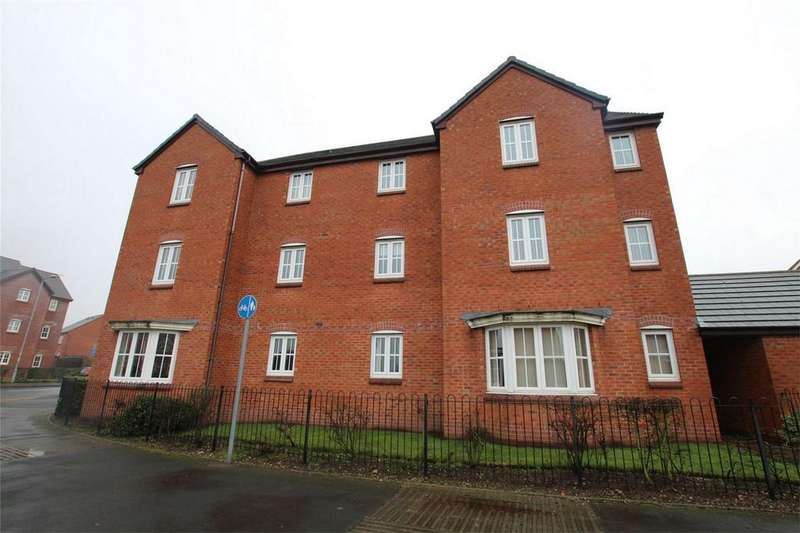 2 Bedrooms Flat for sale in Burwaye Close, Lichfield, Staffordshire