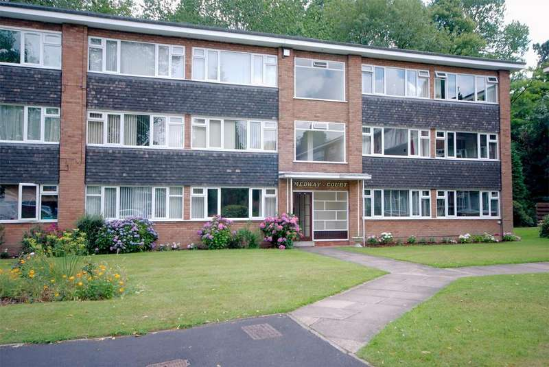 2 Bedrooms Flat for sale in Medway Court, Garrard Gardens, SUTTON COLDFIELD, West Midlands