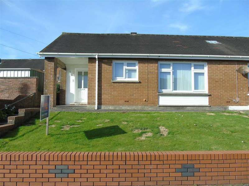 2 Bedrooms Semi Detached Bungalow for sale in Bryncanol, Dafen, Llanelli