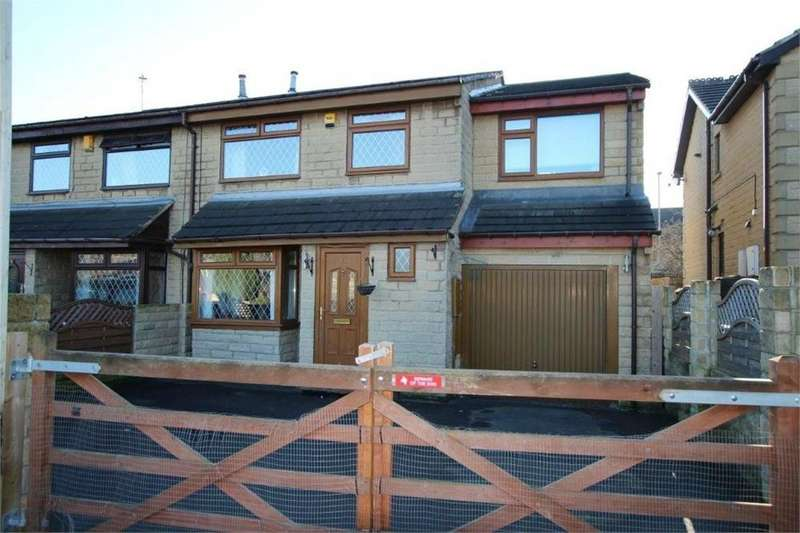 5 Bedrooms Semi Detached House for sale in Teasel Close, Oakenshaw, BRADFORD, West Yorkshire