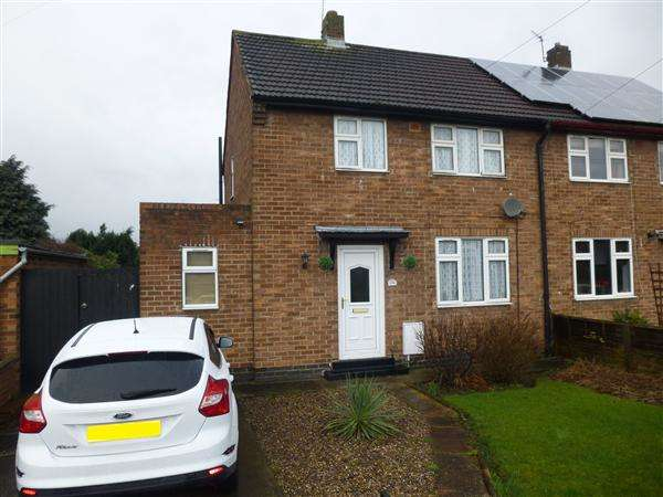2 Bedrooms Semi Detached House for sale in Barkston Avenue, Acomb, York
