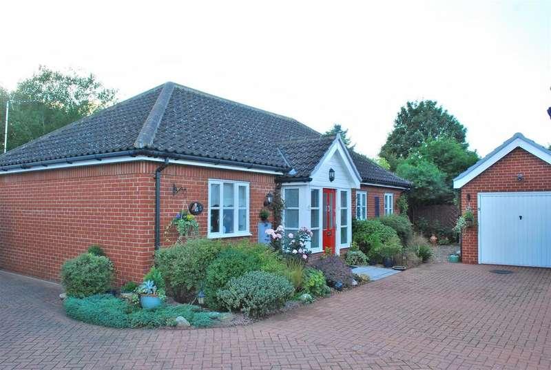 2 Bedrooms Detached Bungalow for sale in Wattisfield