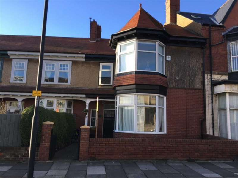 4 Bedrooms Terraced House for sale in Whitley Road, Whitley Bay, Tyne And Wear, NE26
