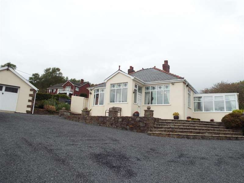 3 Bedrooms Detached Bungalow for sale in Wangara, Y Cwm, Pembrey