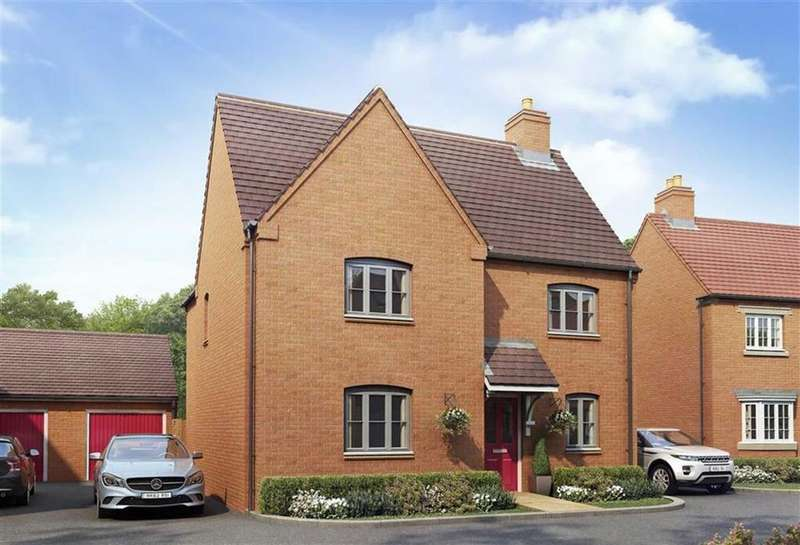 4 Bedrooms Detached House for sale in Plot 167, 2, Oberon Lane, Brackley