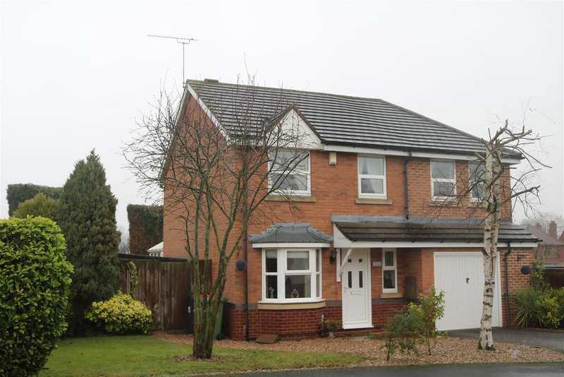 4 Bedrooms Detached House for sale in Sunset Close, Polesworth, Tamworth