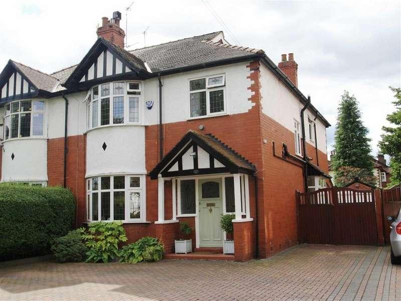 4 Bedrooms Semi Detached House for sale in Stanneylands Road, Wilmslow