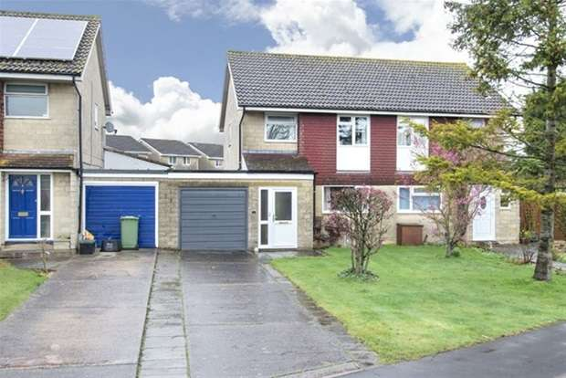3 Bedrooms Semi Detached House for sale in Waverley Close, Frome