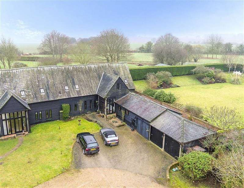 4 Bedrooms Semi Detached House for sale in Howells Farm, Halls Green, Hertfordshire, SG4