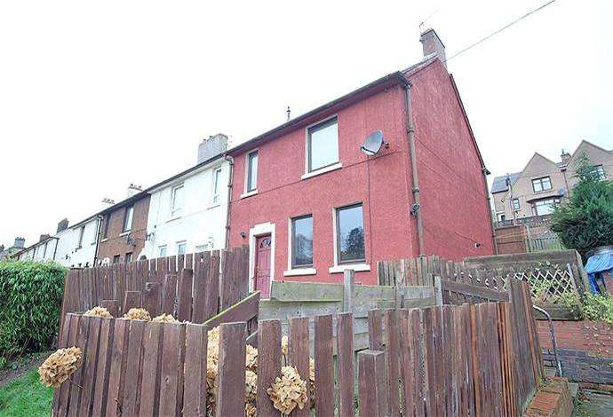 3 Bedrooms Terraced House for sale in 27 Priors Road, Jedburgh, TD8 6HQ