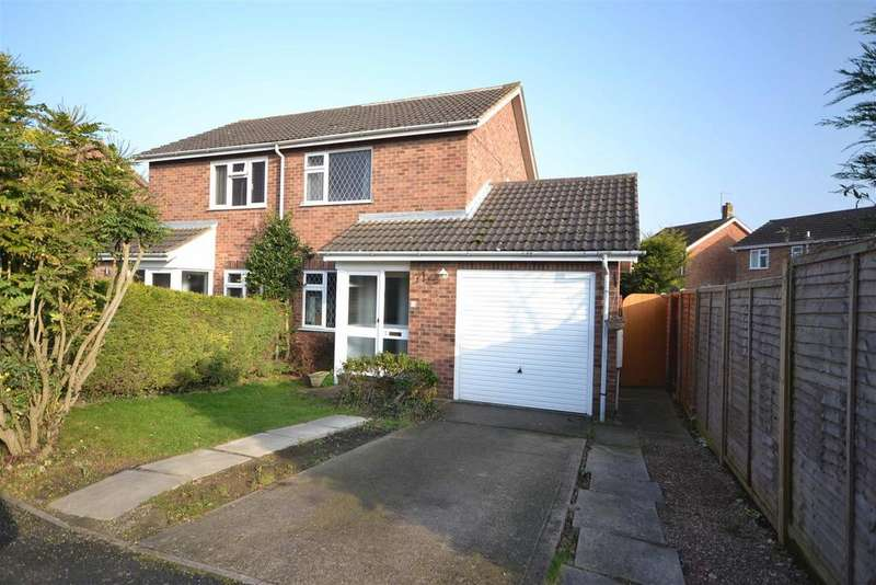 2 Bedrooms Semi Detached House for sale in Willow Road, Stamford