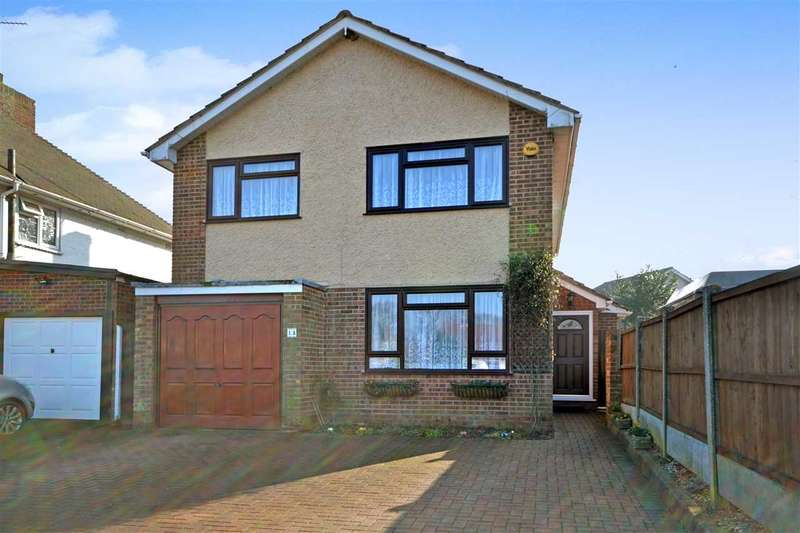 4 Bedrooms Detached House for sale in Kensington Road, Pilgrims Hatch