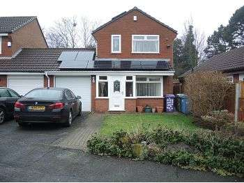 3 Bedrooms Link Detached House for sale in Dearne Close, West Derby, Liverpool