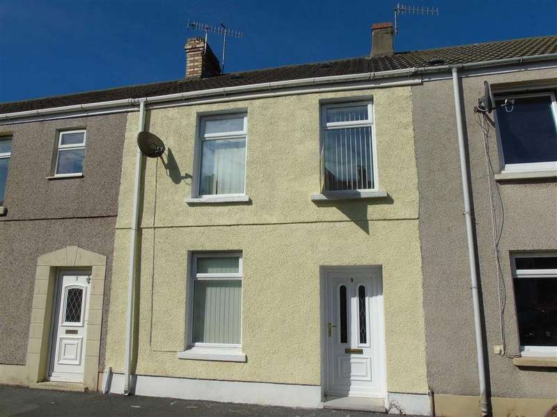 3 Bedrooms Terraced House for sale in Catherine Street, Seaside, Llanelli