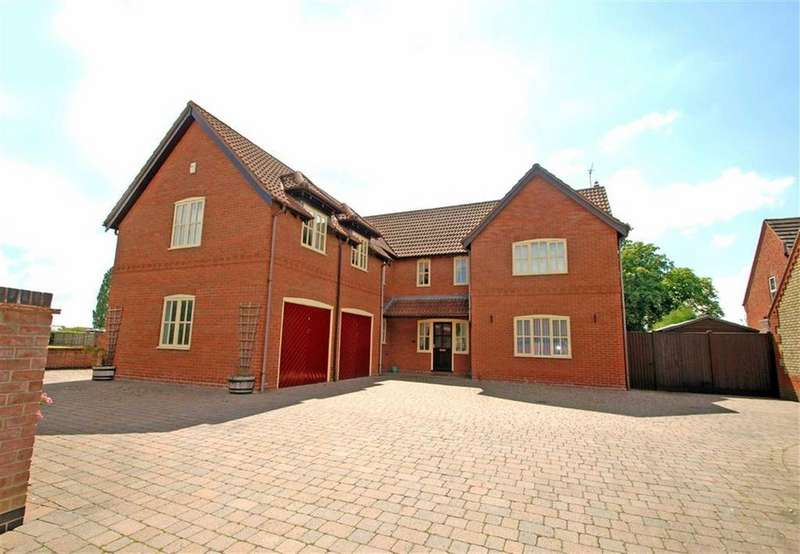 5 Bedrooms Detached House for sale in Millers Gate, Sibsey, Boston