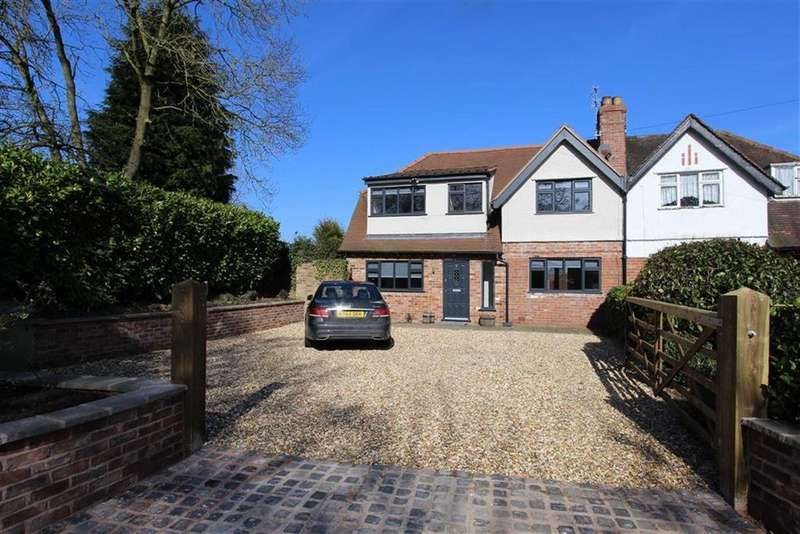4 Bedrooms Semi Detached House for sale in Alderley Road, Prestbury