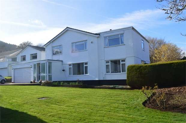 5 Bedrooms Detached House for sale in Llanwenarth Road, Govilon, ABERGAVENNY, Monmouthshire