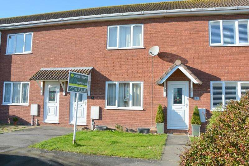 2 Bedrooms Terraced House for sale in Orchard Close, East Huntspill