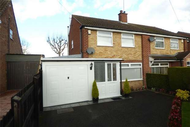 3 Bedrooms Semi Detached House for sale in Starcross Close, Coventry, West Midlands