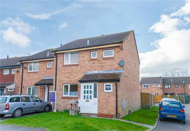3 Bedrooms End Of Terrace House for sale in Alan Way, George Green, Buckinghamshire