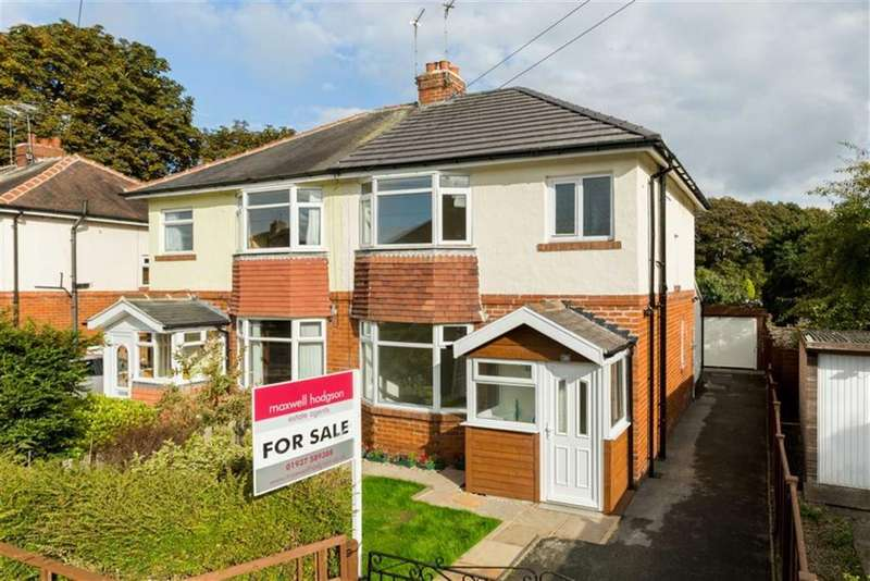 3 Bedrooms Semi Detached House for sale in Barleyfields Road, Wetherby, LS22