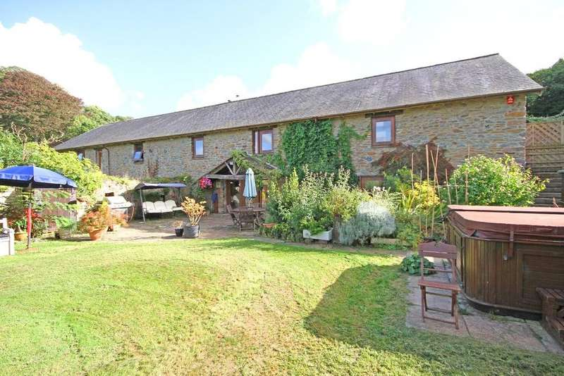 5 Bedrooms Barn Conversion Character Property for sale in Dorsley Barton, Totnes, Devon, TQ9