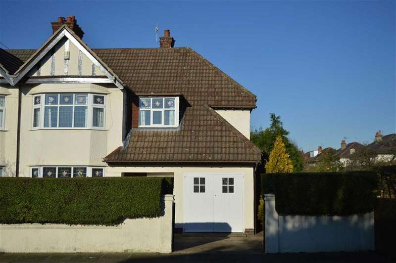3 Bedrooms Semi Detached House for sale in Waterpark Road, Prenton, CH43