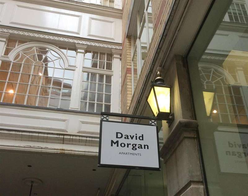 1 Bedroom Flat for sale in David Morgan Apartments, Cardiff City Centre